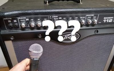 Can You Use a Microphone with a Guitar Amp?