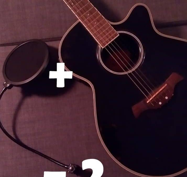 Do I need a pop filter for recording guitar?