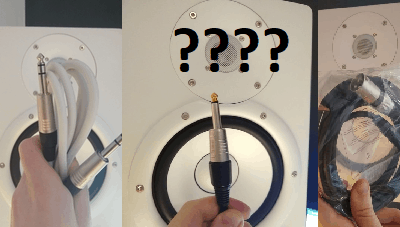 Balanced vs Unbalanced Cables for Monitor Speakers? Different cable types tested.